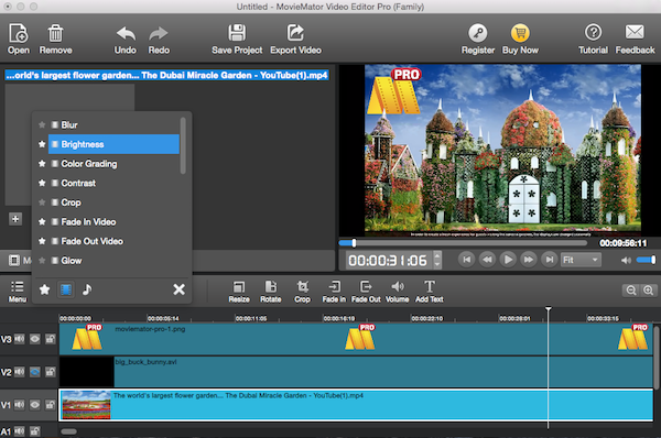 Mac Video Editor MovieMator Pro