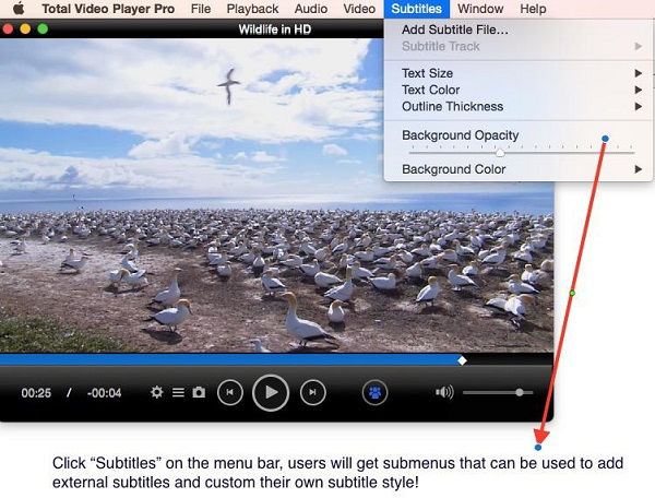 Official how to play hd movies with total video player mac mac video player ccuart Choice Image