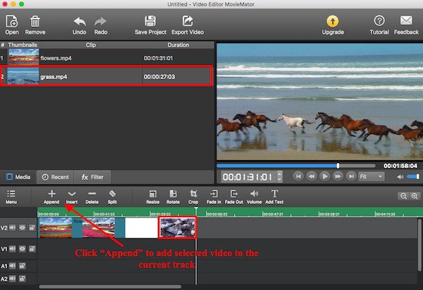 watermark video mac free