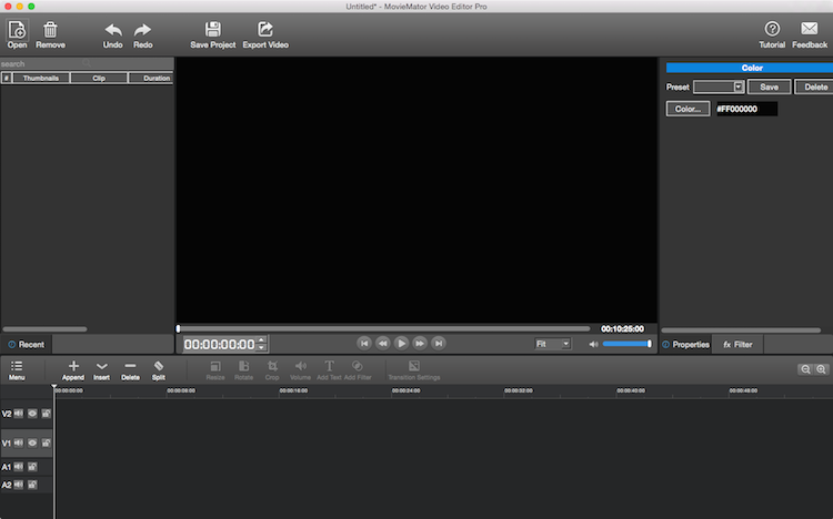 how to resize video